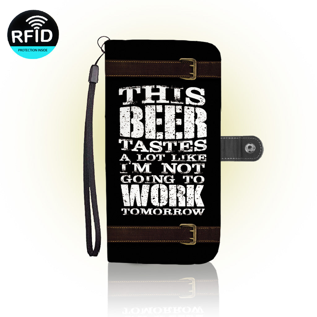 Awesome beer Wallet Case (Today ONLY Discount)