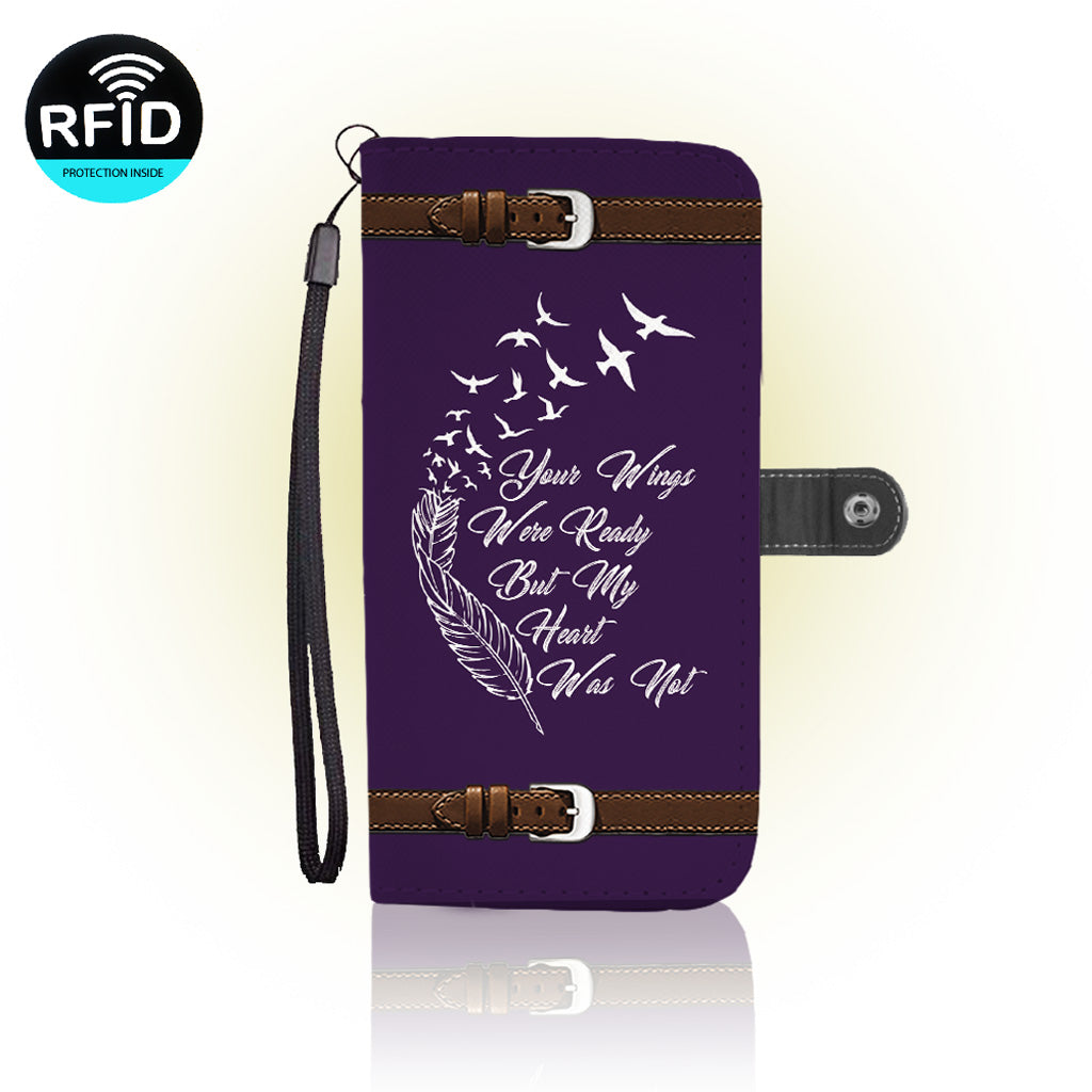 Awesome broken heart Wallet Case