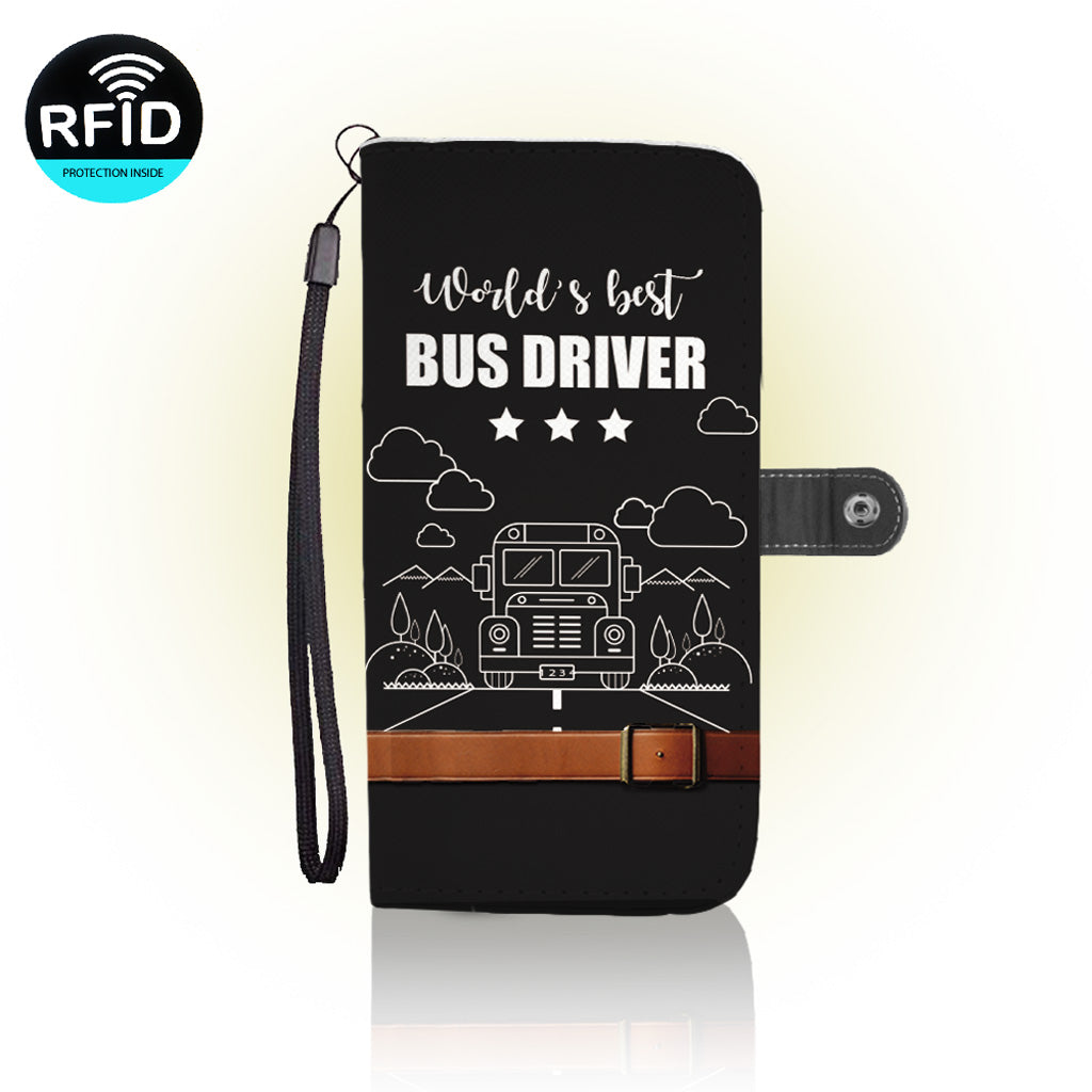 Awesome Bus Driver Wallet Case (Today ONLY Discount)