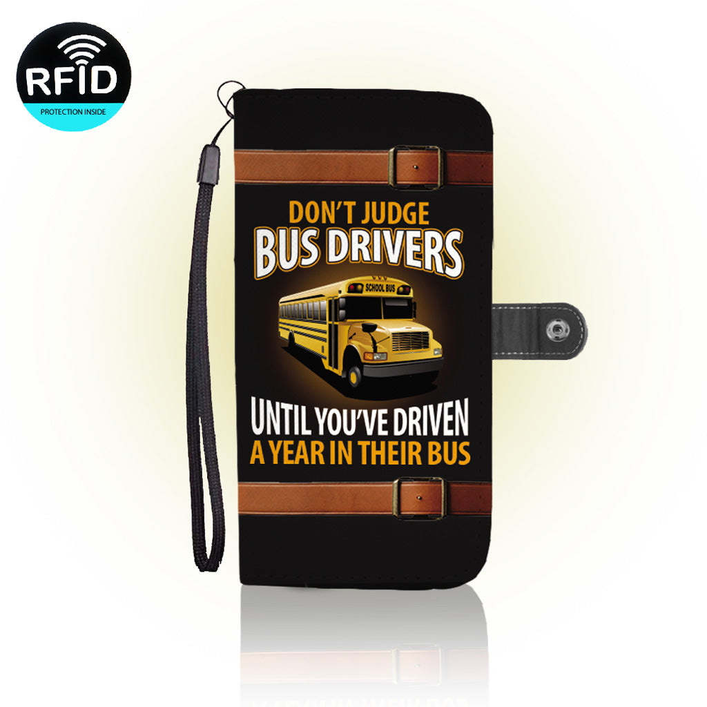 Awesome Bus Drivers  Wallet Case