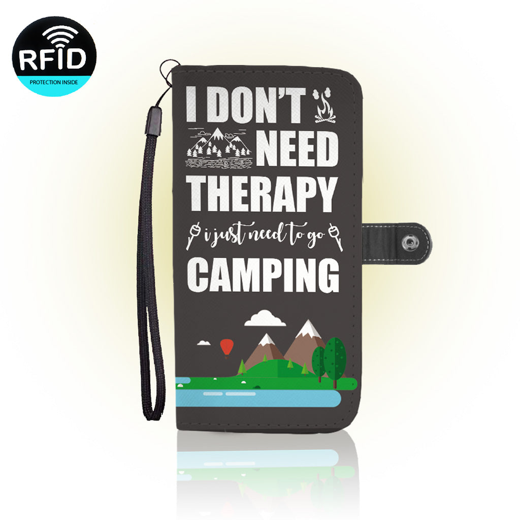 Awesome Camping Wallet Case