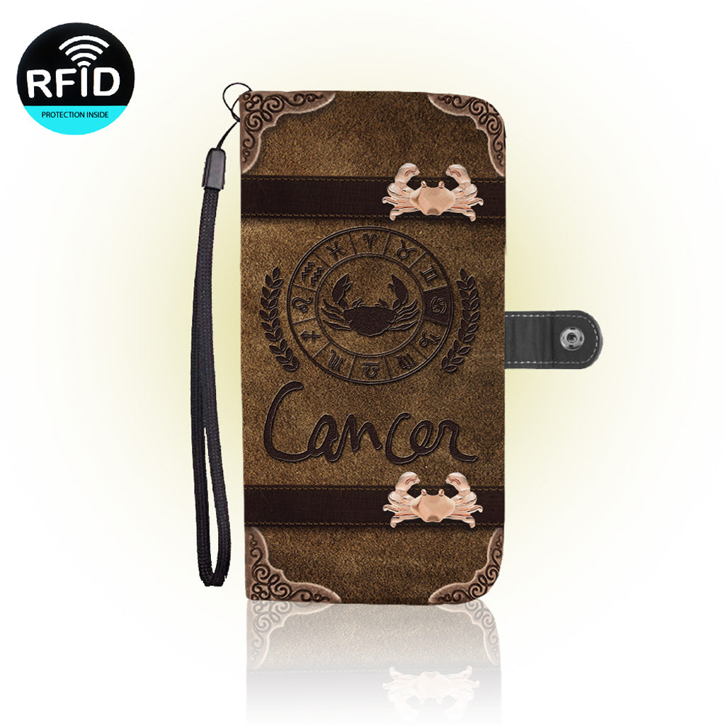 Awesome Cancer Wallet Case