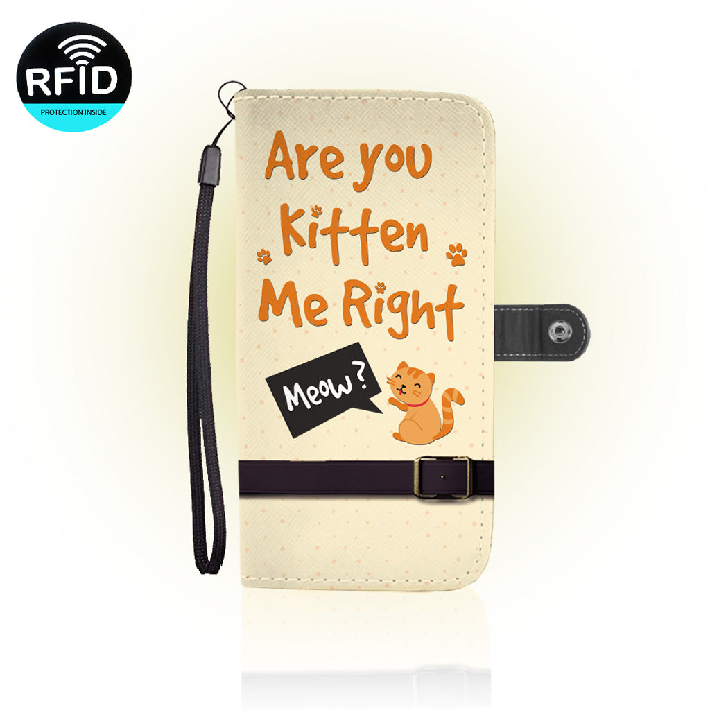 Awesome Cats Lover Wallet Case