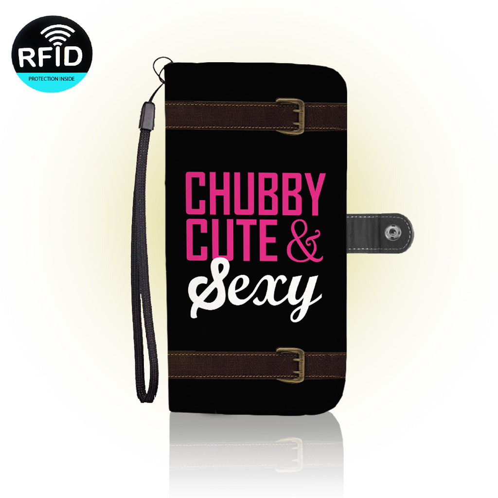 Awesome curvy girls Wallet Case