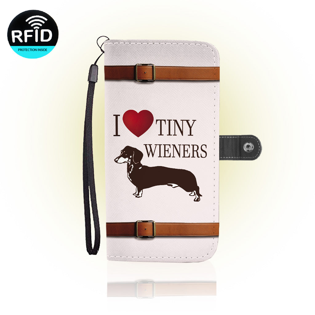 Awesome dachshund Wallet Case