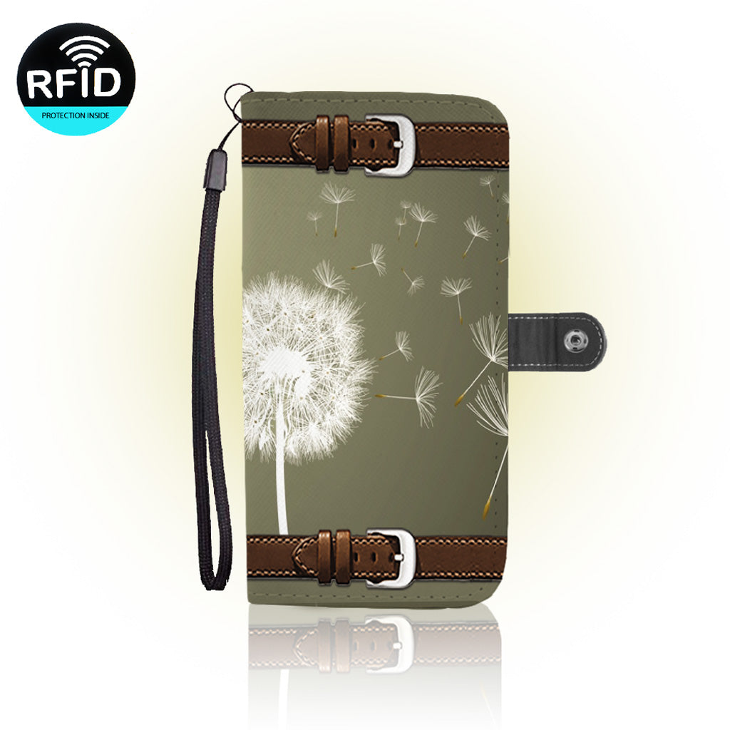Awesome dandelion Wallet Case