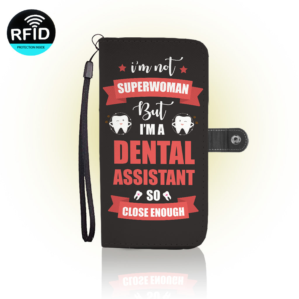 Awesome Dentist assistant Wallet Case