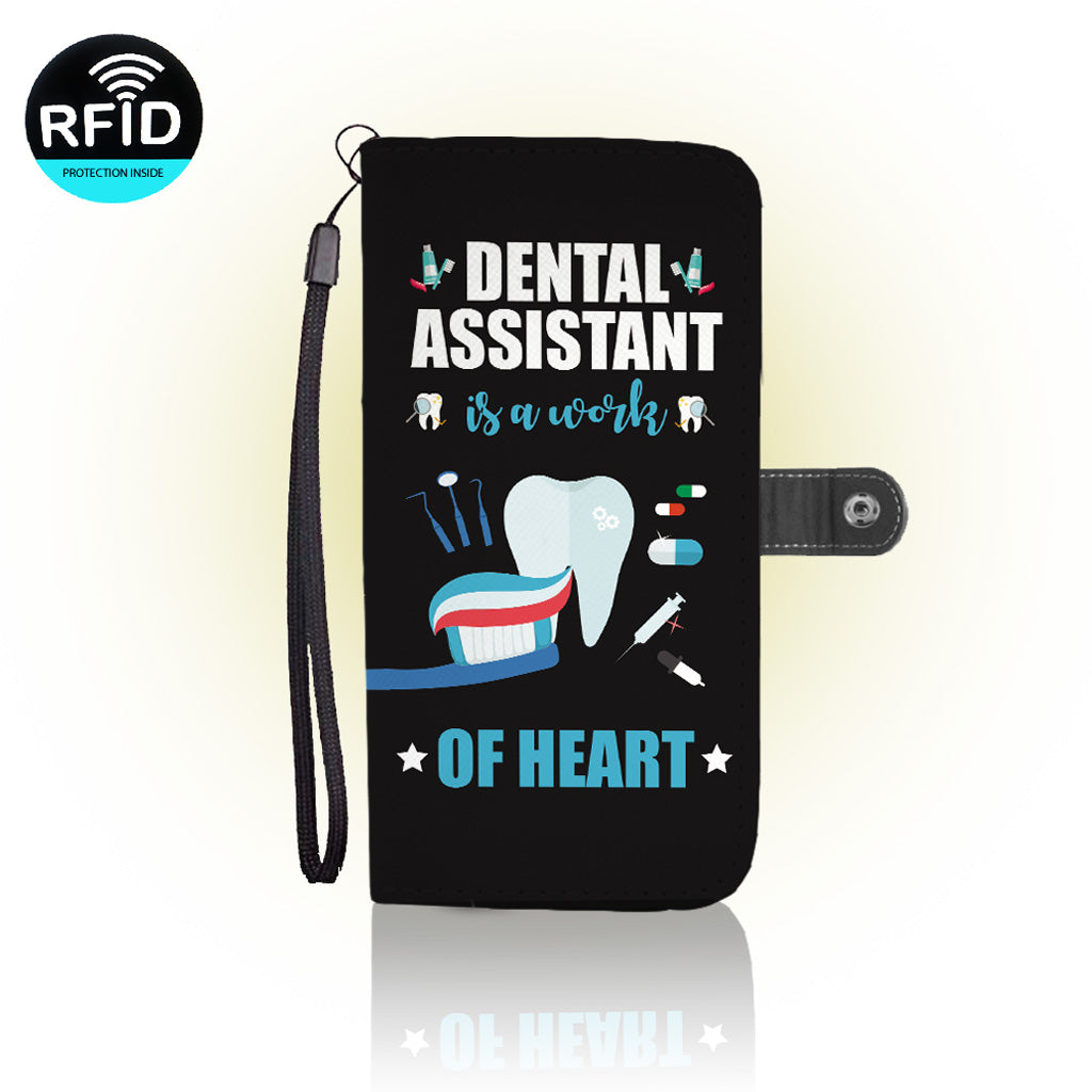 Awesome Dentist assistant Wallet Case (Today Only Discount)