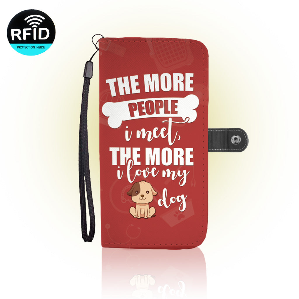 Awesome Dog Lover Wallet Case