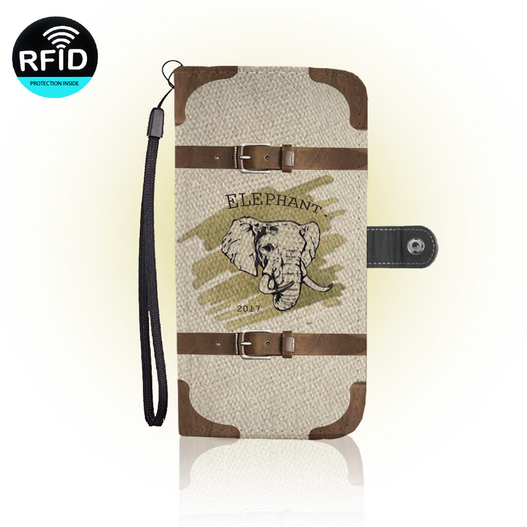Awesome Elephants Wallet Case   (Today ONLY Discount)