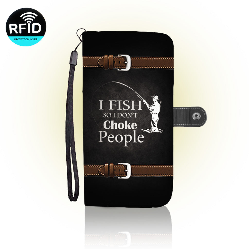 Awesome Fish Lovers Wallet Case