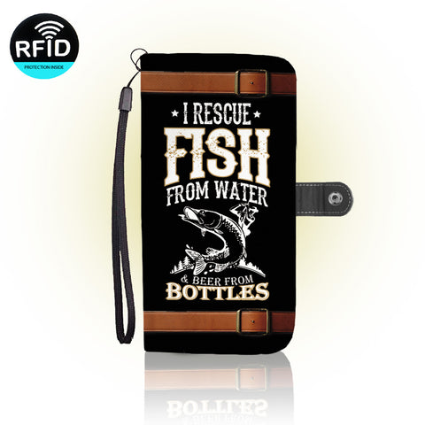 Awesome fishing Wallet Case