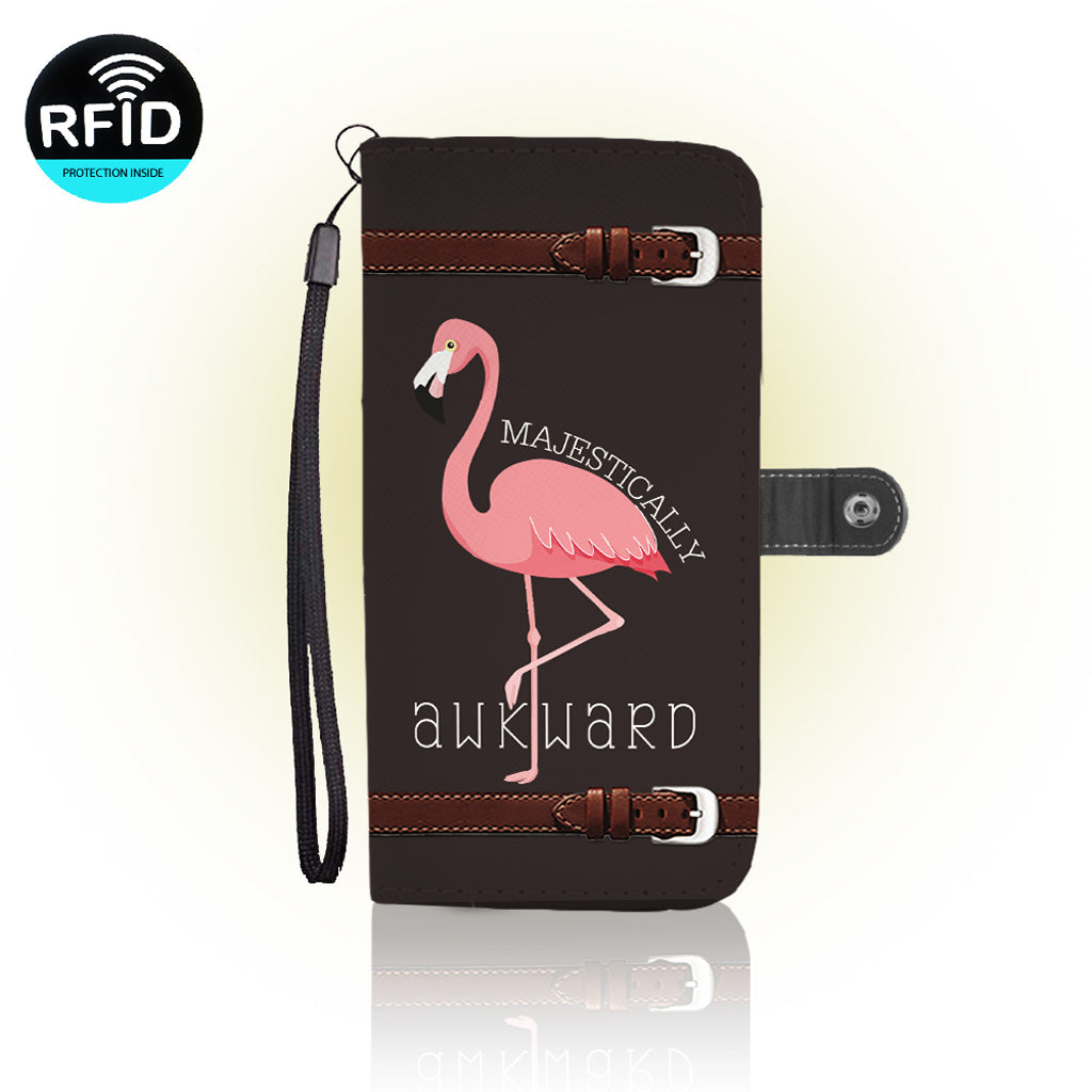 Awesome flamingos Wallet Case