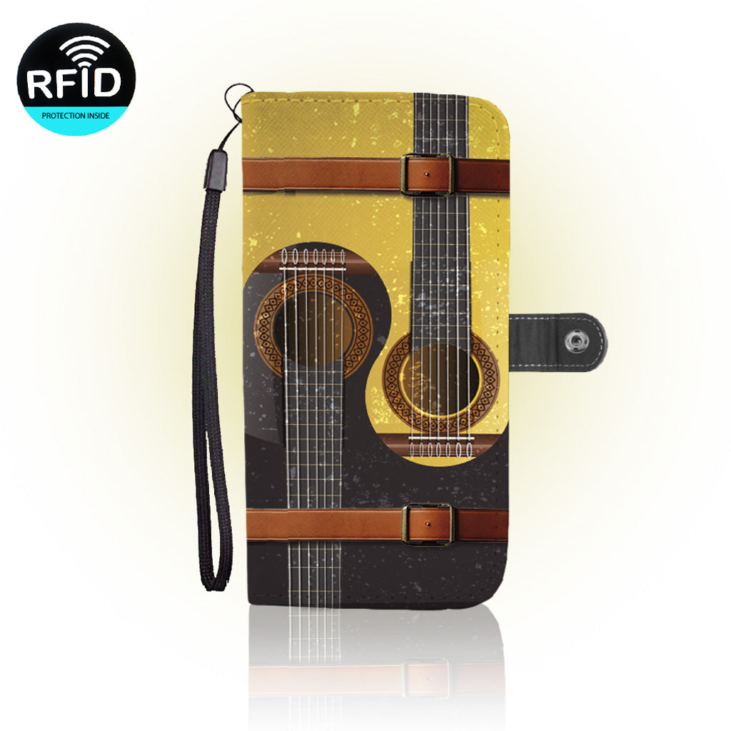 Awesome guitar Wallet Case