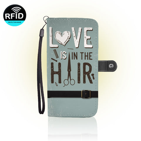 Awesome Hairstylist Wallet Case