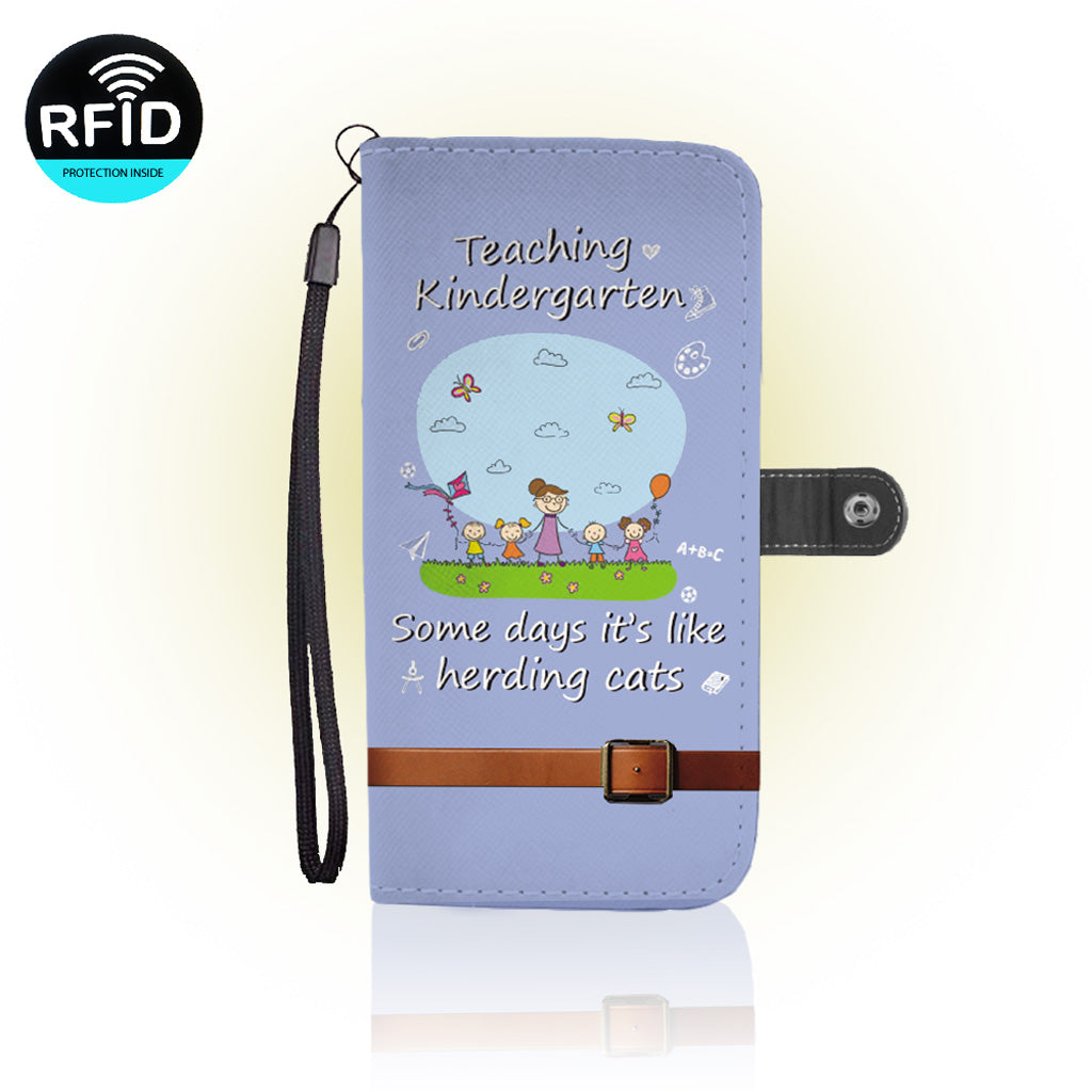 Awesome kindergarden Wallet Case (Today ONLY Discount)