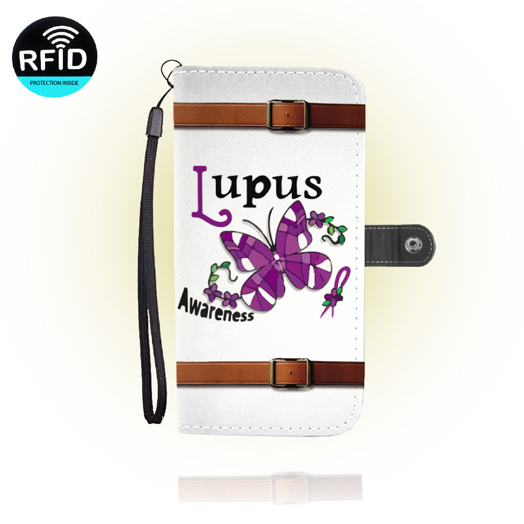 Awesome lupus Wallet Case