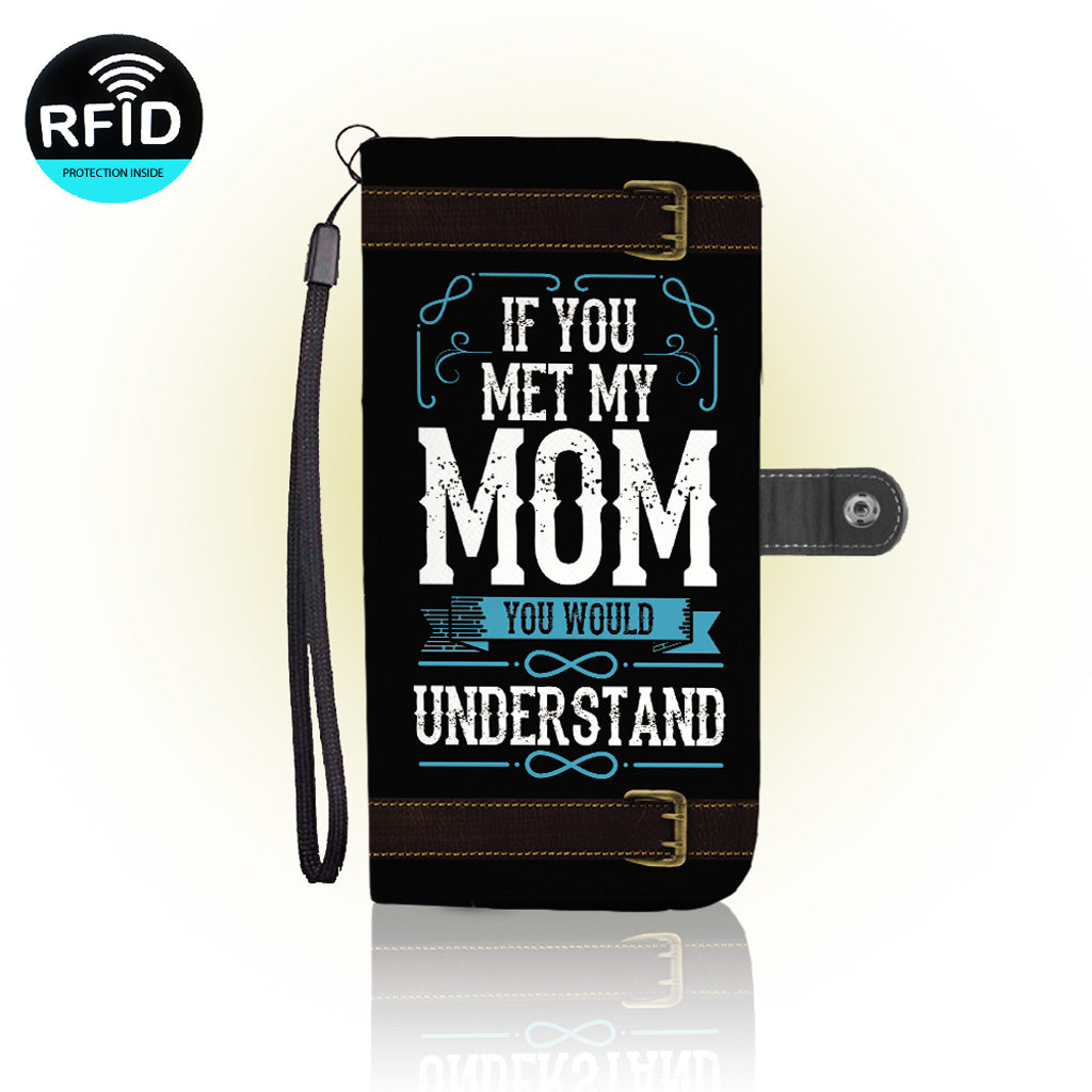 Awesome mom Wallet Case
