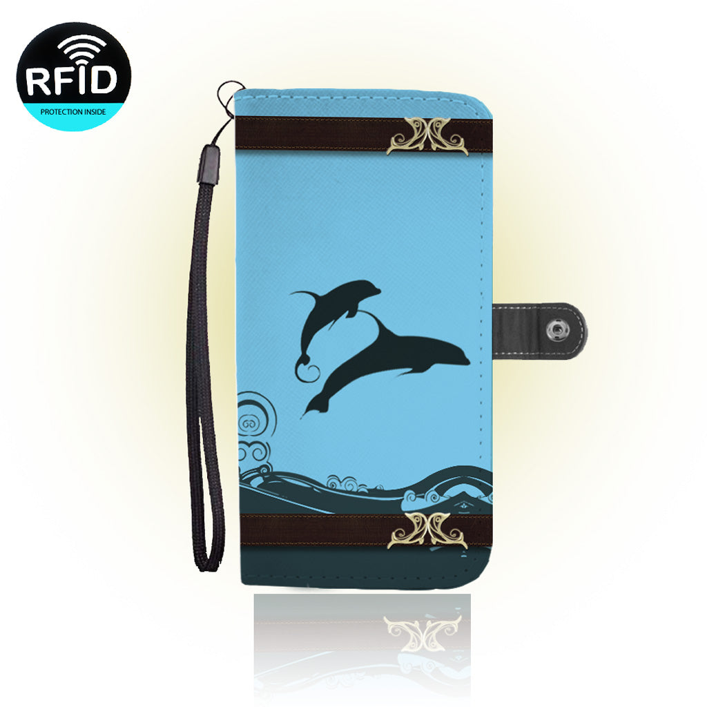 Awesome New Dolphin Wallet Case (Today ONLY Discount)