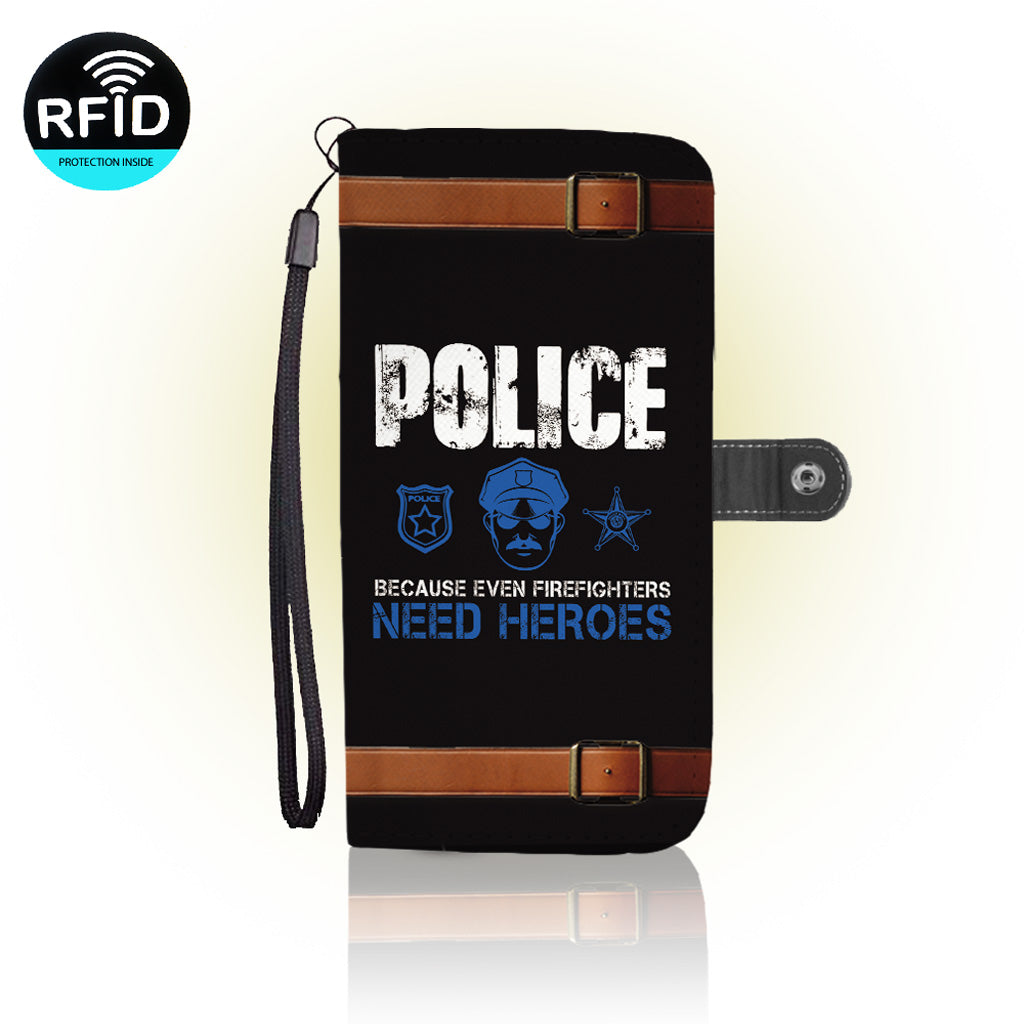 Awesome police Wallet Case (Today ONLY Discount)