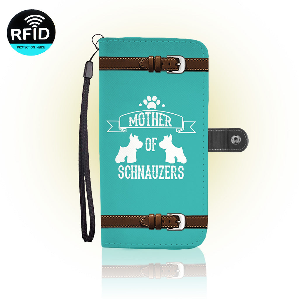 Awesome schnauzers Wallet Case (Today ONLY Discount)