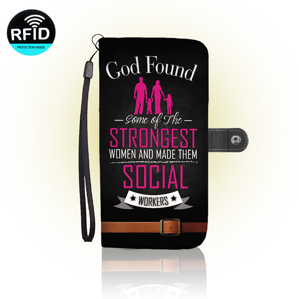 Awesome social worker Wallet Case