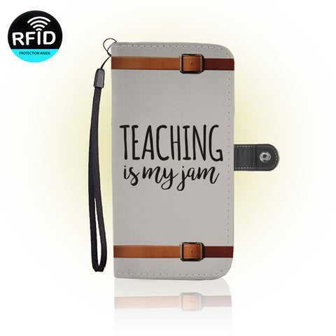 Awesome teachers Wallet Case