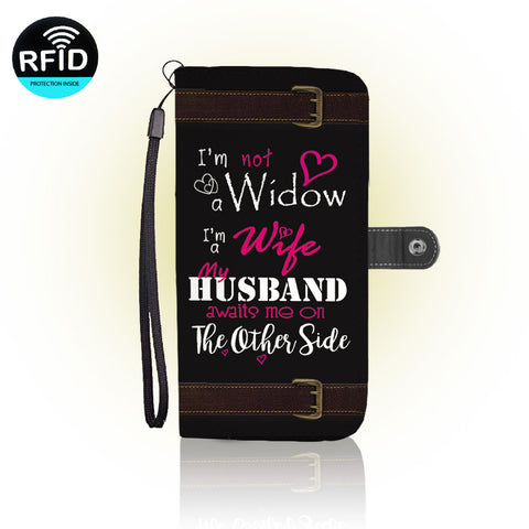 Awesome widowed Wallet Case
