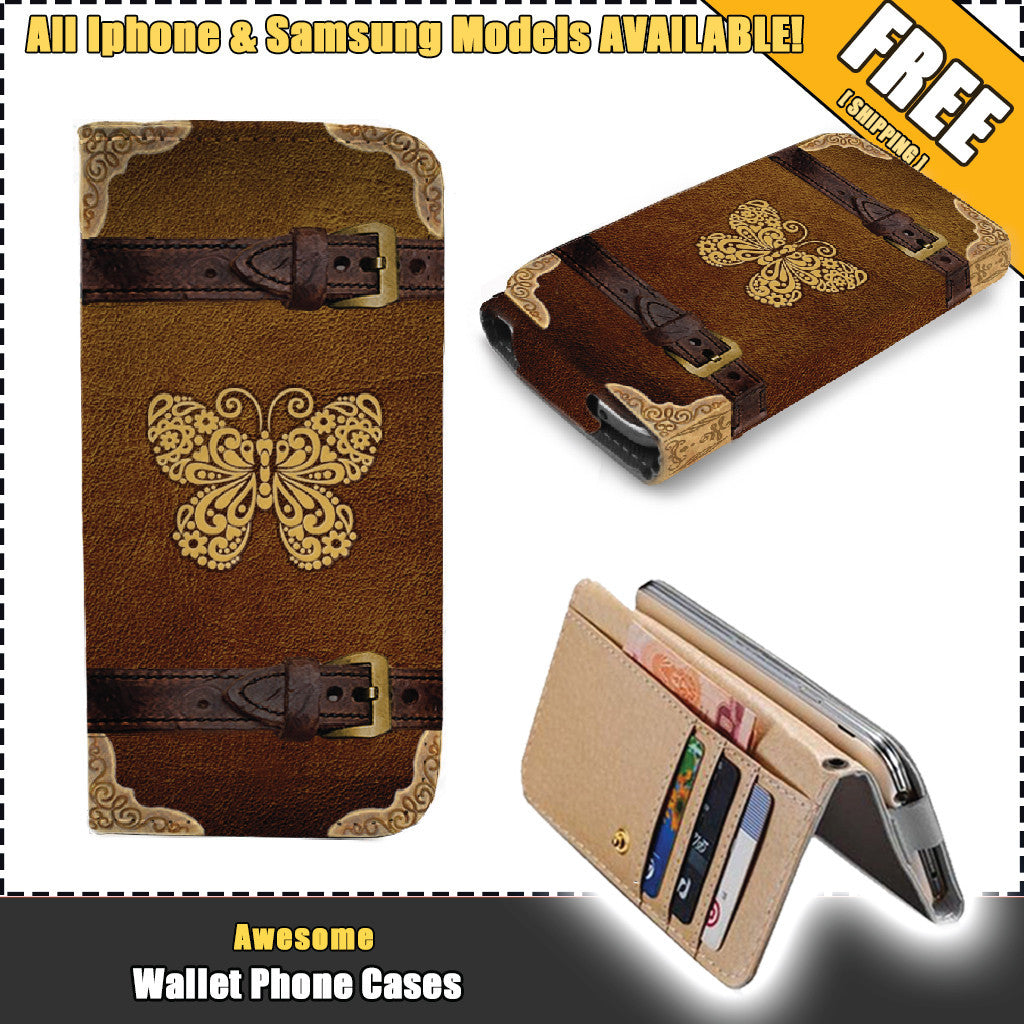 Awesome Butterfly Wallet Case (Today ONLY Discount)