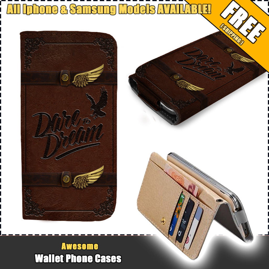 Awesome Hawks Wallet Case   (Today ONLY Discount)