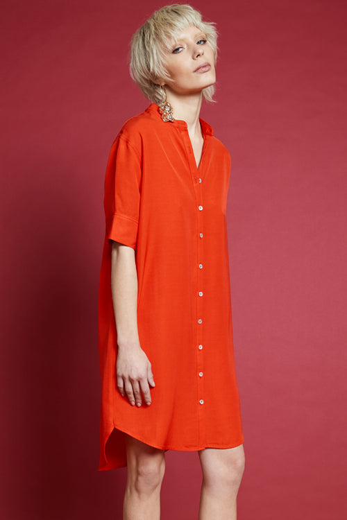 HYPERREAL SHIRT DRESS
