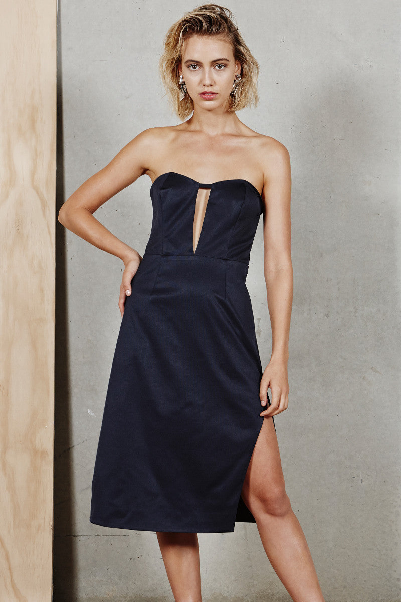 On Call Strapless Dress