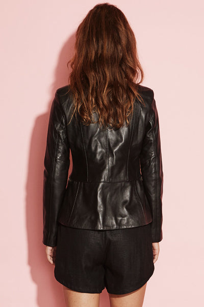Some Minds Leather Jacket