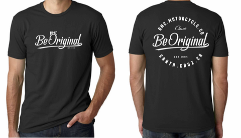 "BMC Motorcycles Company ""BE ORIGINAL"" T - BMC Motorcycle Co."