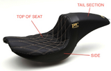 "BMC / CORBIN ""THE WALL"" Custom Seat - All Models - BMC Motorcycle Co."