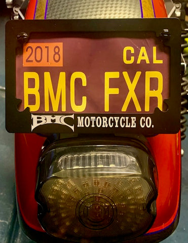 BMC License Plate Frame