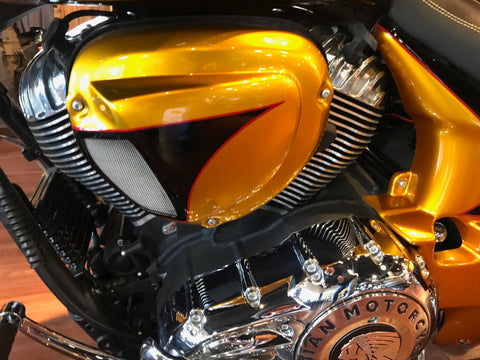 INDIAN CHIEFTAIN AIR CLEANER COVER - BMC Motorcycle Co.