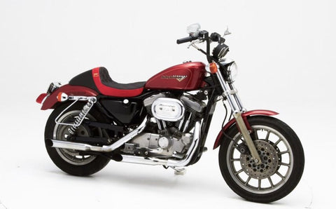 "BMC / CORBIN ""THE WALL"" Custom Seat (Sportster 1996 - 2003) - BMC Motorcycle Co."