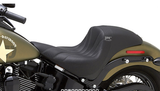 "BMC / CORBIN ""THE WALL"" Custom Seat (2016 - 2017 SOFTAIL SLIM MODELS) - BMC Motorcycle Co."