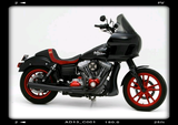 "BMC / CORBIN ""THE WALL"" Custom Seat DYNA/FXR - BMC Motorcycle Co."