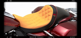 "BMC / CORBIN ""THE WALL"" Custom Seat (FLH / TOURING MODELS) - BMC Motorcycle Co."