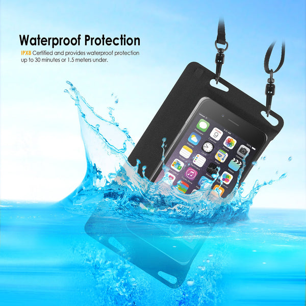 BasAcc Waterproof Bag Case with Strap