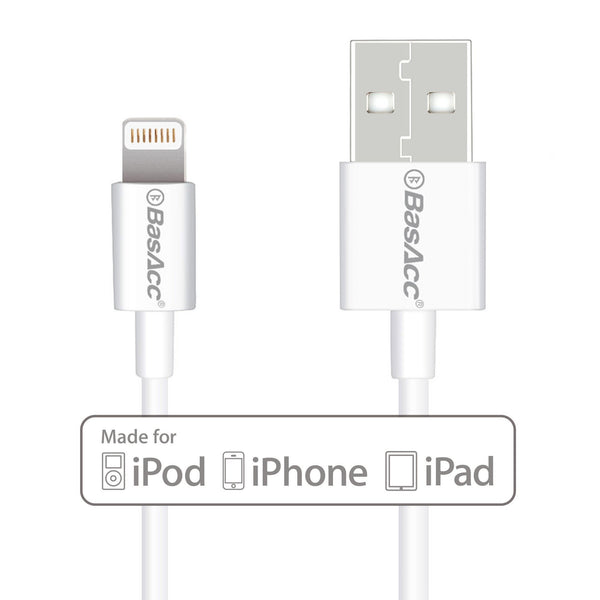 BasAcc 3.3 feet MFI Apple 8 Pin Lightning to USB Cable