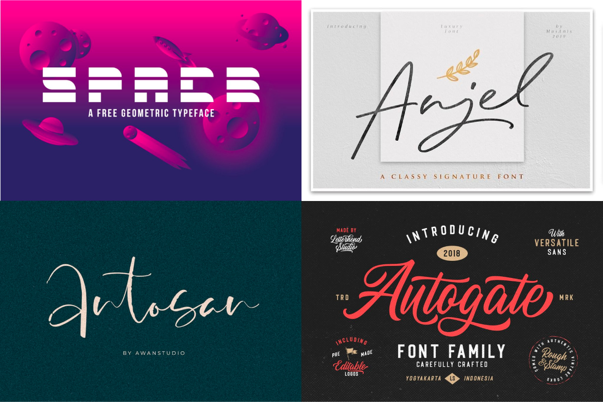 4368+ Best Free Fonts for Anyone 2019 (Script, Display & Sans Serif)