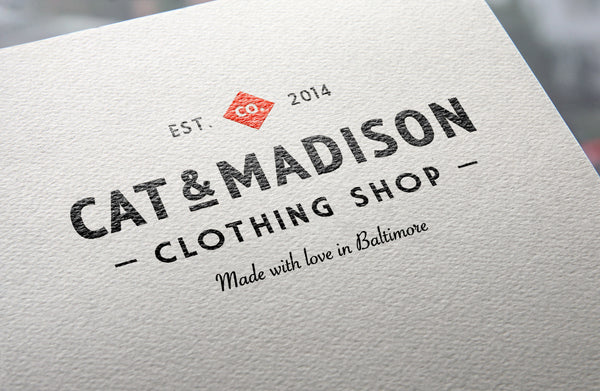 Free Logo Mockup on Natural Paper