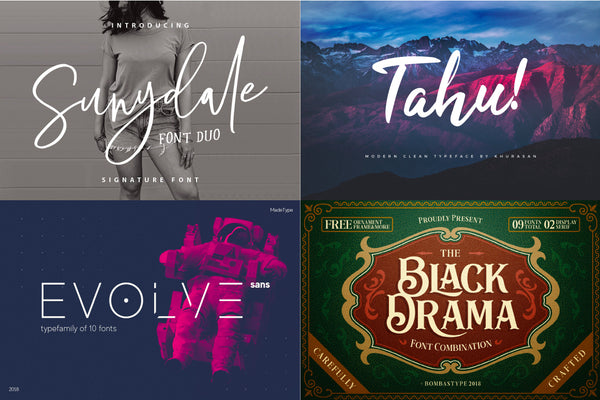 The Best Free Fonts for Graphic Designers