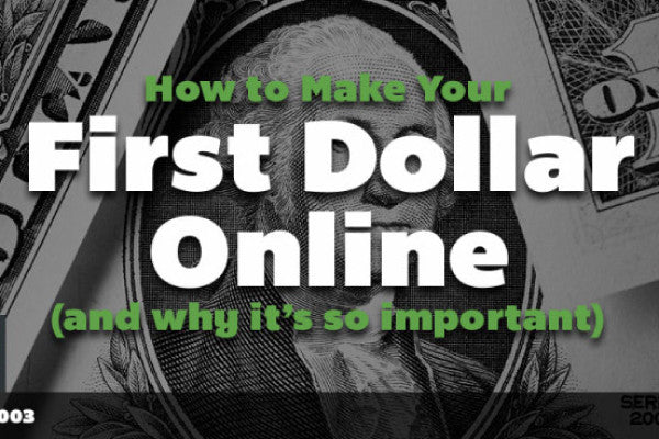 [Podcast] How to Earn Your First Dollar Online - for Designers