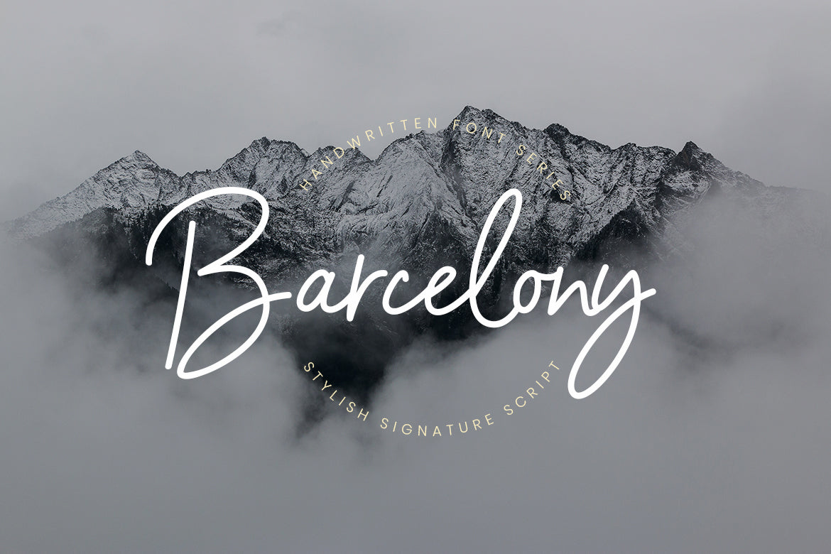 Free Fonts from Crella - Barcelony Script