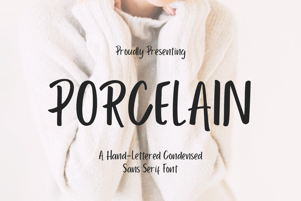 Free Font from Crella - Porcelain Sans Serif Display Font