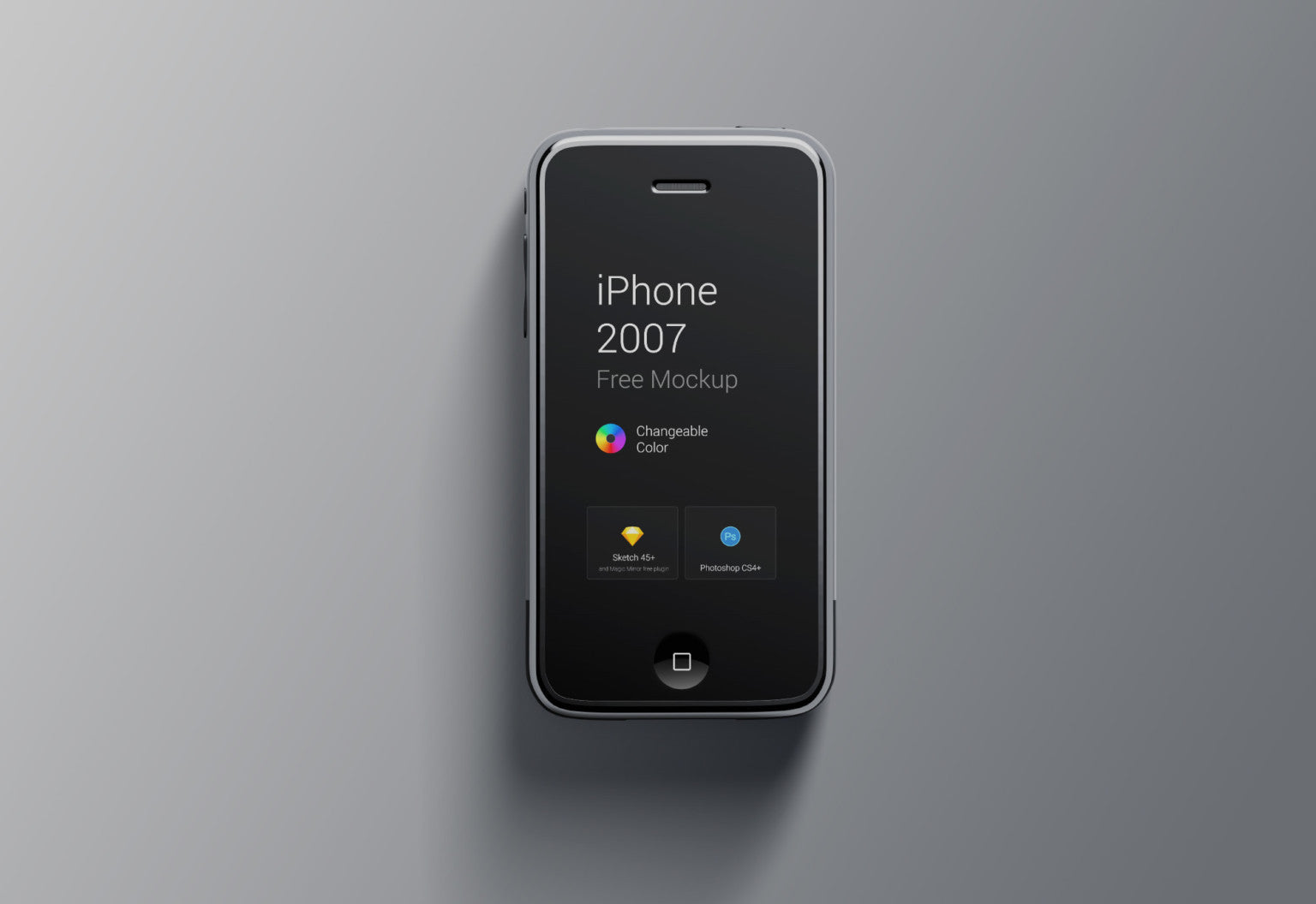 free iphone 1st generation mockup